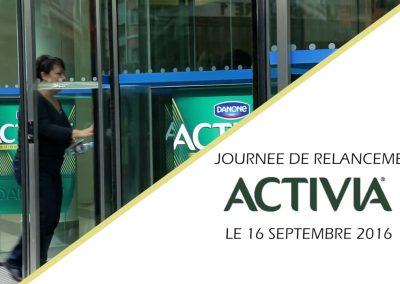 DANONE • Journée de lancement Activiva